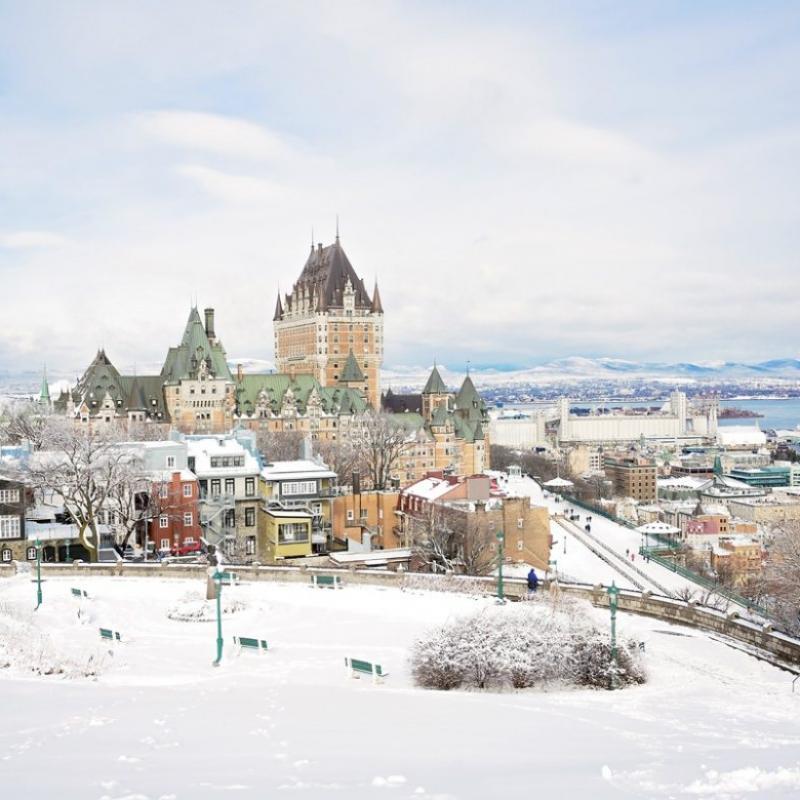 Un petit tour par la ville de Québec pour travailler, vous y avez pensé ?