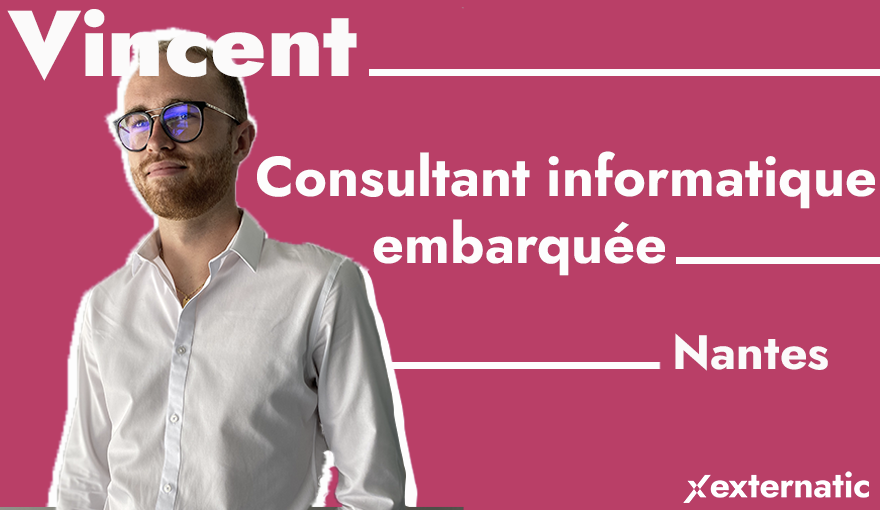 Vincent Crochard, consultant en recrutement informatique sur Nantes