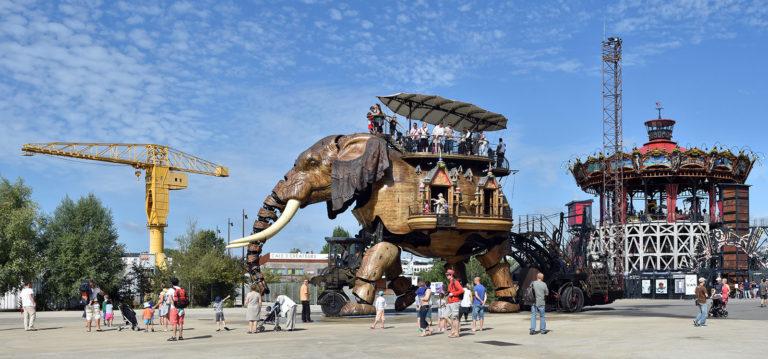 Eléphant des machines de l'île de Nantes
